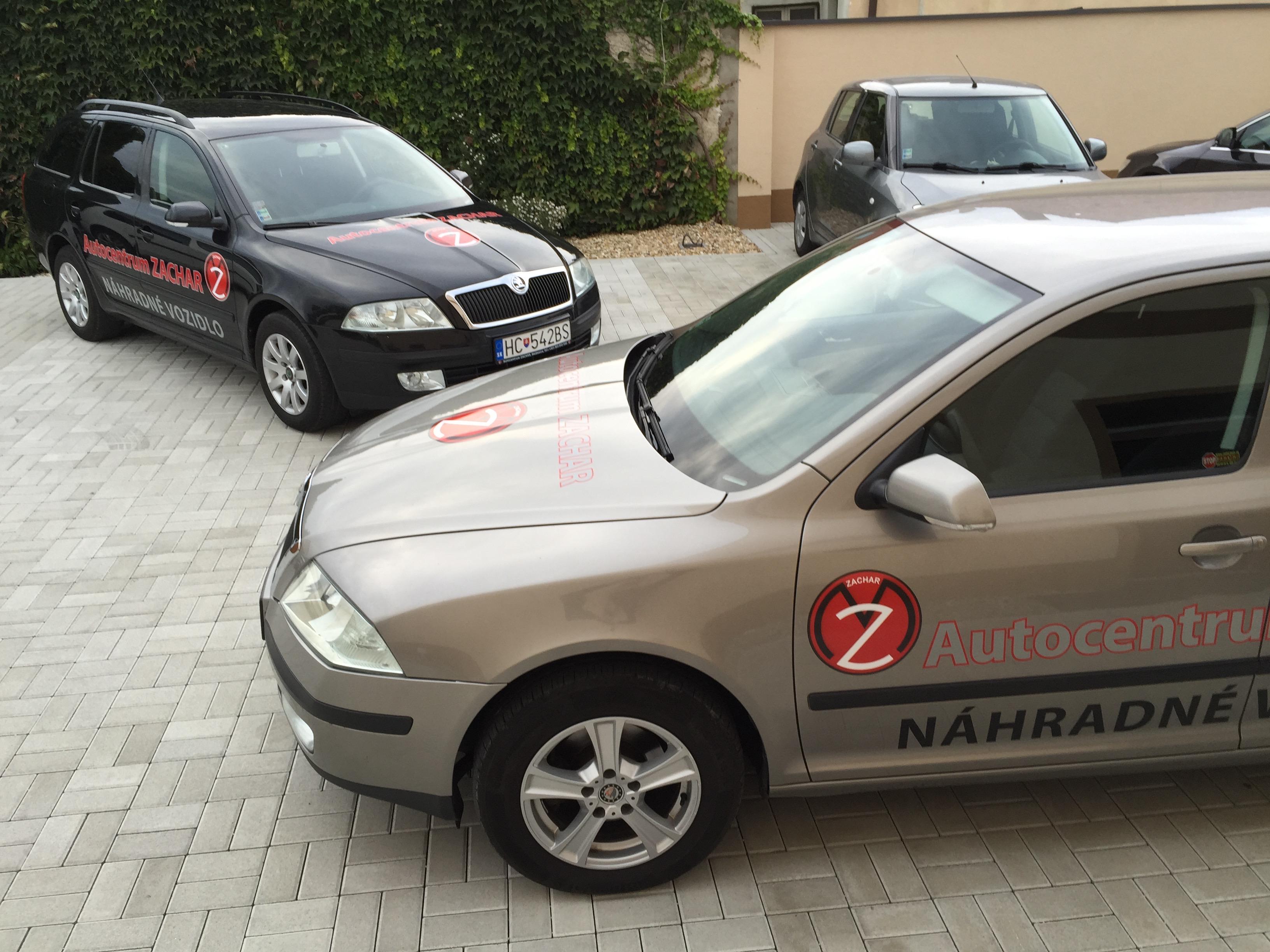 firemné autá reklama